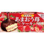 森永製菓 あまおう苺ケーキ 6個入