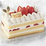 【クリスマス予約】【12月22日、23日、24日、25日の配送になります】 3種のベリーショートケーキ 縦約7cm×横約13.8cm×高さ約5.5cm
