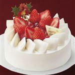 【クリスマス予約】【12月22日、23日、24日、25日の配送になります】 ベリーのデコレーションショートケーキ 直径約15cm×高さ約6.5cm