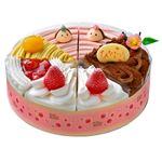 【ひなまつり予約】【2月29日~3月3日の配送になります】 ひなまつり ショートケーキ詰合せ6号 1個 【M0008】