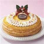 【クリスマス予約】【12月22日、23日、24日、25日の配送になります】 ミルクレープ 直径約18cm高さ約5cm 【M0034】