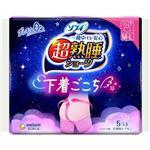 ユニ・チャーム ショーツ型ナプキン 超熟睡ショーツ M~Lサイズ 5コ入 ※お一人さま3点限り