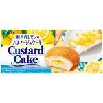 ロッテ カスタードケーキ(瀬戸内レモンのフロマージュケーキ)6個入