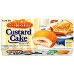 ロッテ カスタードケーキ(メープル香るフレンチトースト風味)6個入