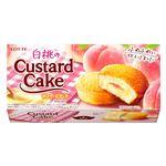 ロッテ 白桃のカスタードケーキ 6個入