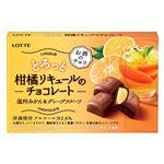 ロッテ とろっと柑橘リキュールのチョコレート 温州みかん&グレープフルーツ 10粒入