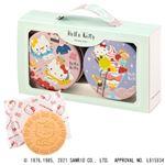 ハローキティ ハローキティミニゴーフル 6枚×2缶/神戸風月堂