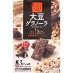 アサヒグループ食品 バランスアップ 大豆グラノーラ カカオ&ナッツ 3枚×5袋