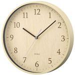 ノア精密 リムレックス 掛時計 フォレストランド ナチュラル W-545N