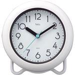 ノア精密 防滴時計 バブルコート(ホワイト)FEW130