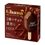 ロッテ ガーナ濃密チョコレートアイスチョコ 55ml×6本