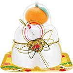 佐藤食品工業サトウの福餅入鏡餅 小飾り鶴橙付き 66g