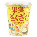 北海道乳業 果実ざくざくヨーグルト 300g