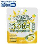 【第3類医薬品】常盤薬品工業 南天のど飴Y はちみつ柚子風味 22錠(パウチ)