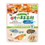 【12ヶ月頃~】和光堂 アサヒグループ食品 1食分の野菜入り そのまま素材 いわしつみれだんご にんじん・じゃがいも・だいこん 100g