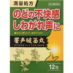 【第2類医薬品】ジェーピーエス製薬 響声破笛丸 エキス顆粒G 12包
