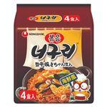 農心ジャパン 旨辛焼きちゃんぽん 4食入 137g×4