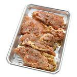 レモン香味焼きチキンステーキ用(岩塩使用)原料肉/アメリカ産・解凍 280g(100gあたり(本体)120円)