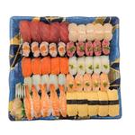 2種の海老が嬉しい味わい握り寿司 10貫(わさびあり)【火・金曜配送なし】