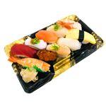 2種の海老が嬉しい味わい握り寿司 10貫(わさびなし)【火・金曜配送なし】