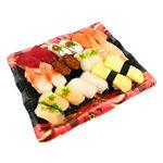 2種の海老が嬉しい味わい握り寿司 20貫(わさびなし)【土日のみ配送】