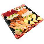 2種の海老が嬉しい味わい握り寿司 30貫(わさびなし)【土日のみ配送】