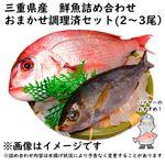 【予約 10/31・11/01配送】 三重県産 鮮魚詰め合わせ おまかせ調理済セット(2~3尾)