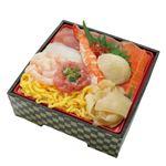 【7/10~7/12配送】 北海道産ほたてが入った8種海鮮の魚河岸丼