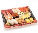【6/10~6/16お届け】 北海道産ほたてが嬉しい味わい握り寿司 20貫(わさびなし)