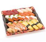 【6/10~6/16お届け】 北海道産ほたてが嬉しい味わい握り寿司 30貫(わさびなし)