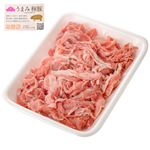 トップバリュ うまみ和豚 小間切れ(国産)680g(100gあたり(本体)138円)