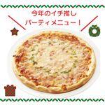 【クリスマス予約】【12月22日、23日、24日、25日の配送になります】 トマトバジルピザ 10インチ(直径約25cm) 【M0086】
