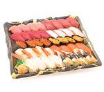 【年始ごちそう予約】 本まぐろが自慢の握り寿司40貫【わさびなし】 1パック 【お渡し日12/31~1/2】