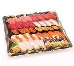 【年始ごちそう予約】 本まぐろが自慢の握り寿司40貫【わさびあり】 1パック 【お渡し日12/31~1/2】