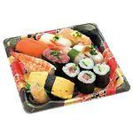 ※火曜日は取り扱っておりません 2種サーモンと2種海老の満腹握り寿司盛合せ(わさびなし)