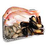 【予約4/17・4/18配送】 春の鮮魚アクアパッツァセット(調理済レンコ鯛他+あさり+ムール貝)1パック