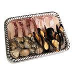 【予約4/17・4/18配送】 春の鮮魚アクアパッツァセット(真鯛骨取り小口切身+あさり+ムール貝)1パック