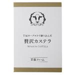 【予約】【3/6(土)~3/7(日)配送】岩泉ファーム贅沢カステラ5切入