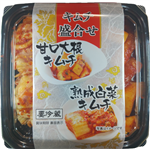 東乃匠 キムチ盛合せ 甘口大根/熟成白菜キムチ 180g