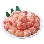 トップバリュ グリーンアイ 純輝鶏 もも肉角切り(国産)300g(100gあたり(本体)158円)