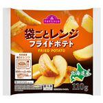 トップバリュ 北海道産 フライドポテト そのまま袋ごとレンジ 110g