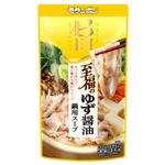 モランボン至福のゆず醤油鍋用スープ750g