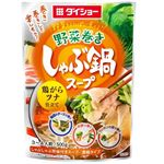 野菜巻きしゃぶ鍋スープ 鶏がらツナ仕立て 500g