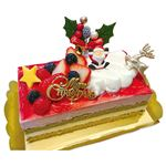 【クリスマス予約】【12月24日、25日の配送になります】 萌chez クリスマスプリンセス 縦約8.5cm×横約16.5cm×高さ約6cm