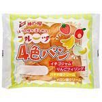 神戸屋 フルーツ4色パン 1個