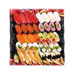 【予約商品】【4/29(木)~5/5(水)の配送】 10種海鮮の味わい握り寿司(北海道ほたて)40貫 1パック
