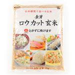 【予約商品】【11/1(金)~11/3(日)の配送】 東洋ライス ロウカット玄米 2kg