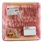 トップバリュ うまみ和豚ばら超うす切り(国産)190g(100gあたり(本体)258円)1パック