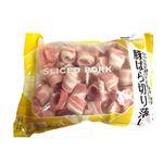 【冷凍】国産 豚肉 ばら切り落し 700g(100gあたり(本体)169円)1袋