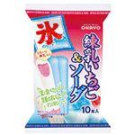 オハヨー乳業 練乳いちご&ソーダ 45ml×10